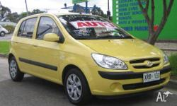 HYUNDAI,GETZ,TB UPGRADE,2007, FWD, YELLOW, 5D