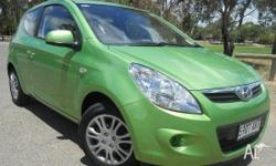 HYUNDAI, i20, PB, 2010, FWD, ELECTRIC GREEN, 3D