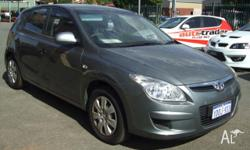 HYUNDAI, i30, 2010, 5D HATCHBACK, 2, 4cyl, 4 SP