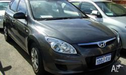 HYUNDAI, i30, 2009, 5D HATCHBACK, 2, 4cyl, 5 SP MANUAL,