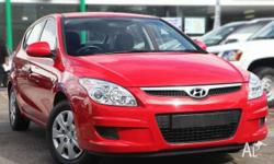 HYUNDAI,i30,FD MY09,2009, Front Wheel Drive, RED, 5dr