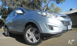 HYUNDAI, ix35, LM, 2010, Front Wheel Drive, BLUE ICE,