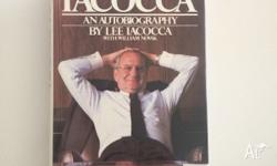 Iacocca � An Autobiography By Lee Iacocca Hardcover �