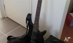IBANEZ BASS GUITAR AND AMP Price for BOTH is $190 PICK
