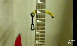 I bought this Ibanez RG170 DX Electric Guitar in
