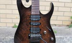 Brand New Ibanez RG970WBWZ. Since purchase it has been