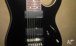 """Like new"" Ibanez RGA7 7-string guitar, modded with a"