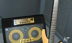 I am selling my bass rig which includes Ibanez SR 705 5
