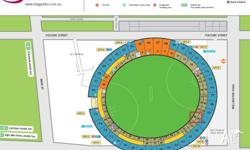 Selling 3 tickets for Australia vs Bangladesh ICC World