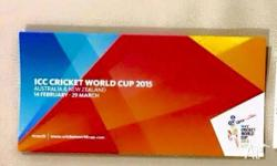 ICC World Cup Sydney QuarterFinal 2 x Tickets for