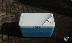 Blue Cooler (inside measurements 550mm long x 280mm