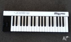 Up for sale is my IK Multimedia iRig Keys PRO (37 Key)