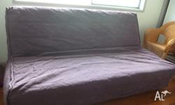 New new sofa bed purchased about 12 months ago Easy to