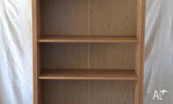 Tall Ikea bookcase in good condition. Pickup only.