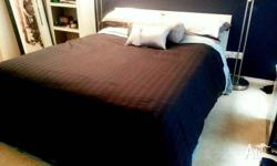 IKEA MALM whie color double bed good condition IKEA