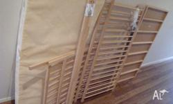 Ikea Sniglar Cot + mattress - new, never used.