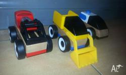 IKEA Wooden Car Set. 3 cars you can build with the
