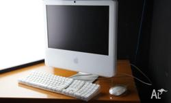 For sale is a used Apple iMac 2Ghz 17-inch Intel Core 2