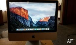 "iMAC 20"" Early 2008 in very good condition Intel Core 2"