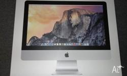 "-BOX ONLY!!! -Box for 21.5"" iMac A1418, might be"