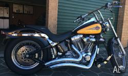 I HAVE A 2000 MODEL HARLEY DAVIDSON SOFTAIL WHICH IS