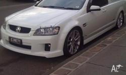 Immaculate example of holden SSV Ute thats got the