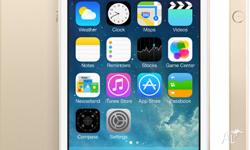 iPhone 5s 64GB Gold - Officially Unlocked 100% brand