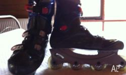 Ladies size 10 inline skates. Bought from Rebel Sport.