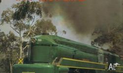 IN PRAISE OF TRAINS IN AUSTRALIA-HARDBACK MANY COLOUR