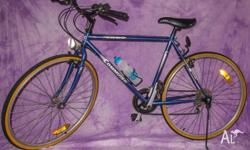 good condition for age, light scratches to handlebars