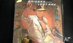 Indiana Jones and the Raiders of the Lost Ark DVD;