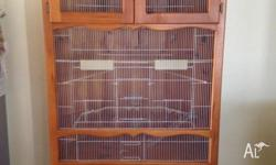 In Door Bird Cage On Wheels Cage can be move around