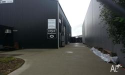 Industrial shed in Edmonton, Must sell. Live on