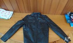 Industrie genuine leather jacket, an impulse buy that I