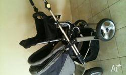 This is a very versatile pram I have used with my 2