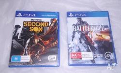 I have for sale 2 PlayStation 4 PS4 games: - Infamous