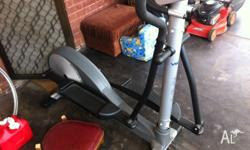 Like new cross trainer. No longer it due to having a