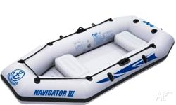 This great inflatable boat is brand new and still