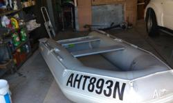 3.3 metre Hyland Inflatable keel and floor, takes upto