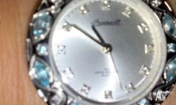 Ingersoll Exotic Gem Ladies Watch with Blue and White
