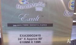24 in. x 50 ft. Exalt by EternaMedia, Gloss Smooth
