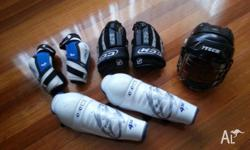 For Sale used inline hockey gear Gear is in good