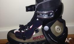 Used once inline Roces inline skates! Shock absorbing