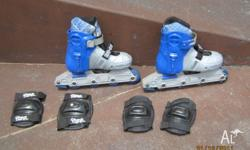 INLINE SKATES or ROLLER BLADES FOR KIDS & ADULTS. STAR