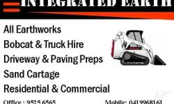 - All Earth works - Bobcat & Truck hire - Sand & Grass