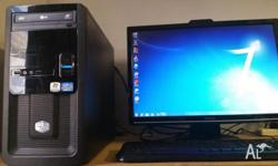"Intel Core i7 with Cooler Master Case and Asus 22"" LCD"