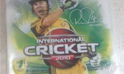 UP FOR SALE IS INTERNATIONAL CRICKET 2010 FOR PS3. THE
