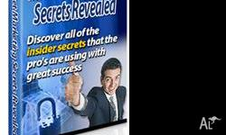 You're About To Learn The Secrets To Internet marketing