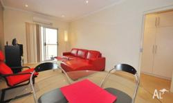 "Located on the second floor of the ""Astra Apartments"","