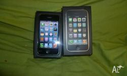 IPHONE 3GS BLACK 32GB UNLOCKED*BOX CHARGER VERY GOOD